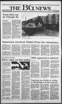 The BG News October 18, 1984