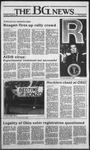 The BG News October 25, 1984