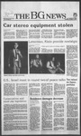 The BG News October 1, 1985