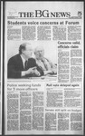 The BG News October 9, 1985