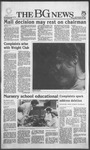 The BG News October 16, 1985