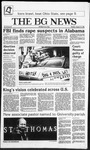 The BG News January 21, 1986