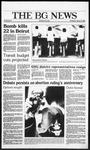 The BG News January 22, 1986