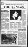 The BG News January 24, 1986