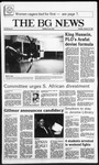 The BG News January 28, 1986