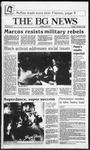 The BG News February 25, 1986