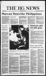 The BG News February 26, 1986