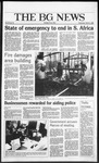 The BG News March 5, 1986