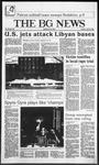The BG News April 15, 1986
