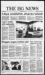 The BG News April 16, 1986