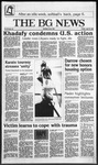 The BG News April 18, 1986