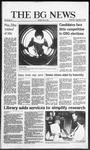 The BG News September 17, 1986