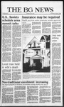 The BG News October 1, 1986