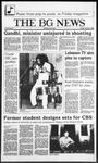 The BG News October 3, 1986