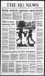 The BG News October 8, 1986