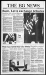 The BG News October 16, 1986