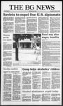 The BG News October 23, 1986