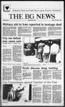 The BG News November 7, 1986