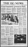 The BG News November 12, 1986