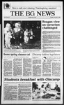 The BG News November 25, 1986