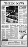 The BG News January 21, 1987