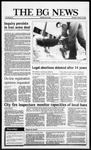 The BG News January 22, 1987