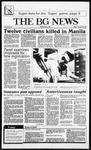 The BG News January 23, 1987