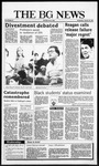 The BG News January 28, 1987