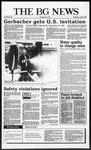 The BG News April 15, 1987