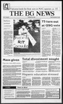 The BG News September 18, 1987