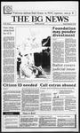 The BG News September 22, 1987