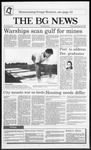 The BG News September 25, 1987