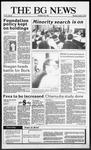 The BG News October 15, 1987
