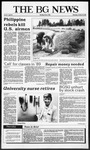The BG News October 29, 1987