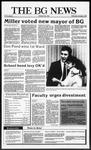 The BG News November 4, 1987