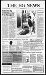 The BG News November 12, 1987