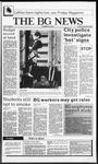 The BG News November 20, 1987