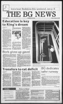 The BG News January 15, 1988