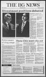 The BG News April 7, 1988