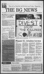 The BG News April 22, 1988