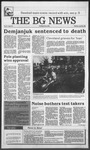 The BG News April 26, 1988