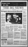 The BG News October 20, 1988