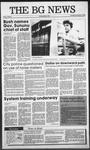 The BG News November 17, 1988