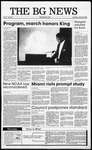 The BG News January 19, 1989