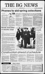 The BG News January 25, 1989