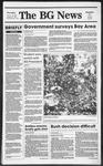 The BG News October 19, 1989