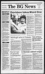 The BG News November 8, 1989