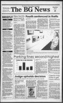 The BG News December 6, 1989