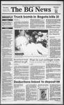The BG News December 7, 1989
