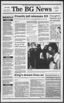 The BG News January 18, 1990